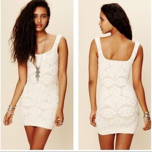 Free People Intimately medallion bodycon dress 122